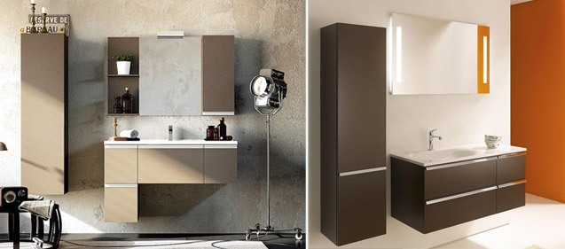 Meubles de salle de bain design contemporains guide artisan - Salle de bain design contemporain ...