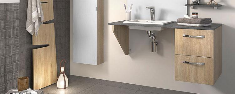 meubles salle de bain pmr Astral de Delpha