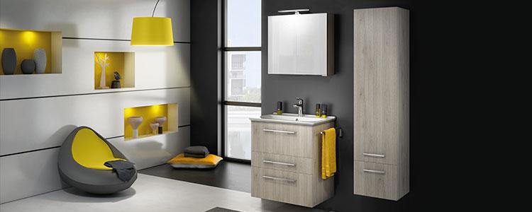 meuble salle de bain moderne Graphic Delpha