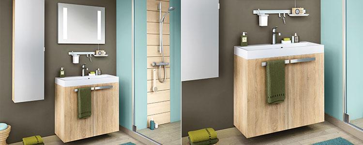meuble pour petite salle d'eau Studio Delphy