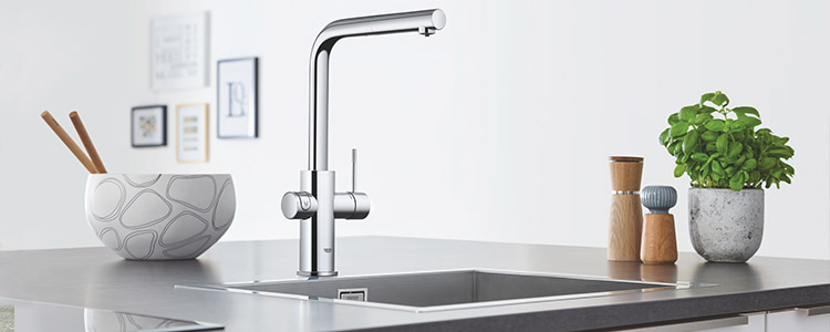 robinet mitigeur grohe blue home