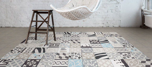 Tout ce qu 39 il faut savoir sur le carrelage motifs - Carrelage motif carreau de ciment ...