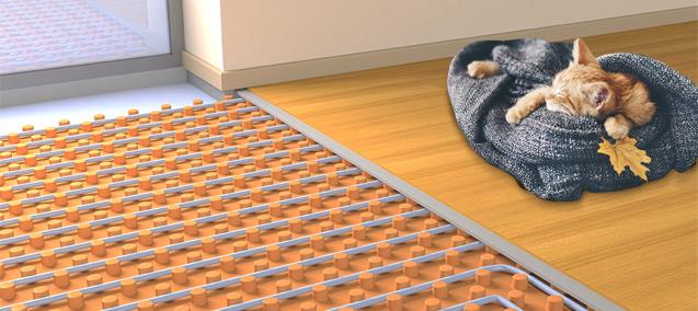 le chauffage au sol parfait pour le logement neuf guide artisan. Black Bedroom Furniture Sets. Home Design Ideas