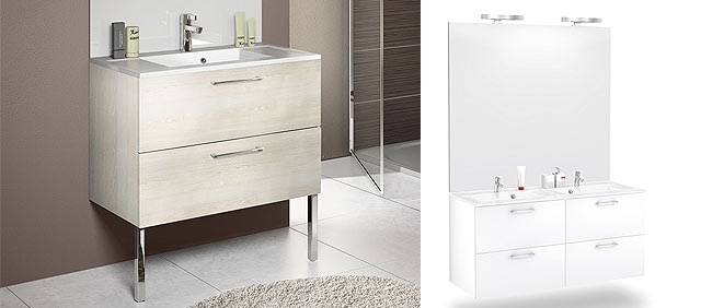 Meuble de salle de bain duo express de delpha guide artisan - Delpha meuble salle de bain ...