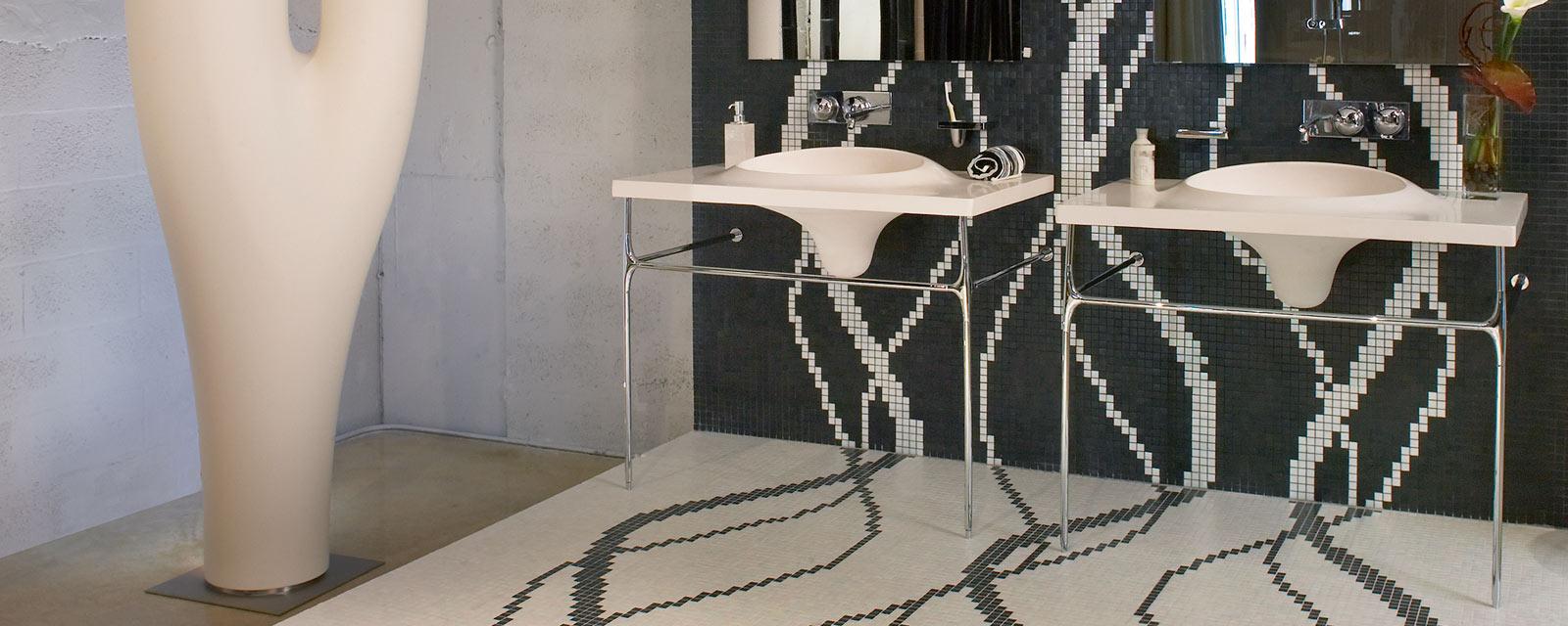 Carrelage Salle De Bain Avec Mosaique mosaïque salle de bain : idées déco | guide artisan