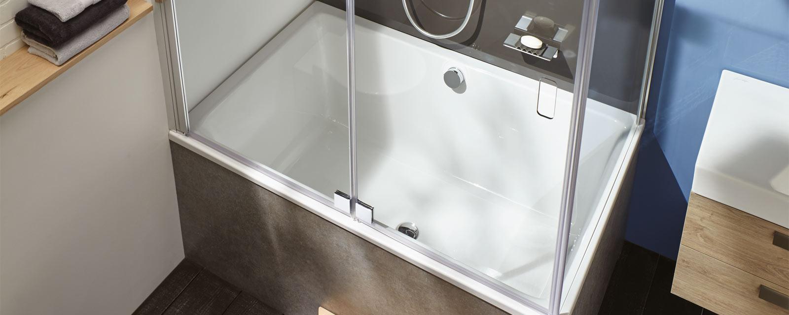 Amenagement Petite Salle De Bain Wc choisir une baignoire pour petite salle de bains | guide artisan