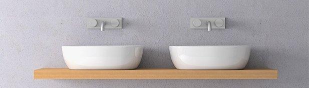 déco salle de bain bois ceramique