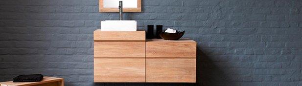 meuble salle de bain teck urban line art les bois exotiques